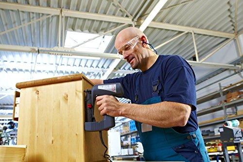 Novus J-165 profi power, 031-0324 - L'agrafeuse CE pour lambris, à très faible recul, pour les travaux de lambrissage convient également à la fixation de clips en bois profilé standard, pour agrafes á fils minces d'une longueur jusqu'à 26 mm