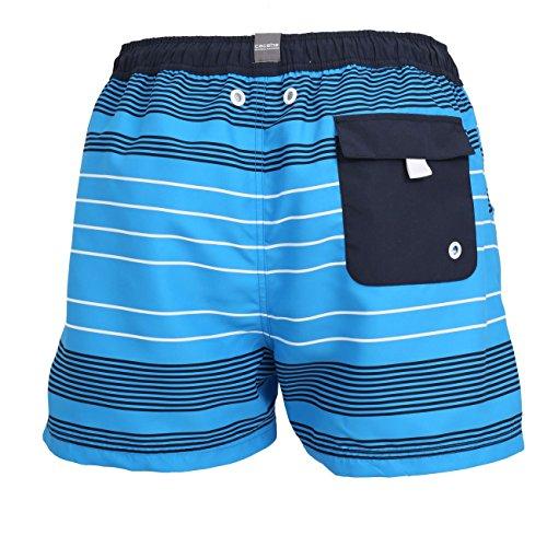 Ceceba Herren Badeshorts Kurz Blue Multicolored
