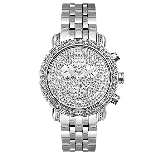Joe Rodeo Diamant Homme Montre - CLASSIC argent 3.5 ctw