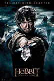 Close Up The Hobbit Poster Die Schlacht der fünf Heere Bilbo (61cm x 91,5cm) + Original tesa Powerstrips® (1 Pack/20 Stk.)