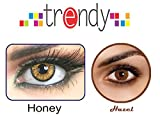 Trendy Honey and Hazel Monthly Contact L...