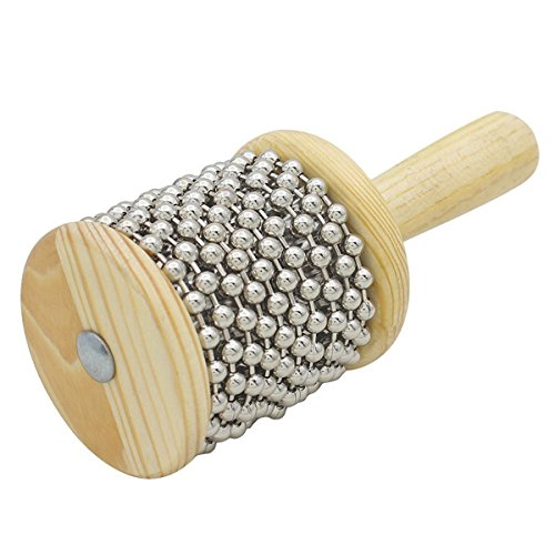 ROSENICE Holz Cabasa Hand Shaker Kinder Percussion Instrument