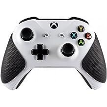 eXtremeRate Negro Antideslizante Maneja Agarre Cubrir Hand Grips para Xbox One Xbox One X Xbox One S Controlador