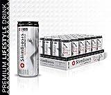 ABNEHMEN - FATBURNER VEGAN Getränk – DeLaVie SLIMBIOSIS Drink - mit Süßungsmittel und Vitamine Complex & Koffein - ZUCKERFREI - Guaraná L-Carnitin Grüner Tee Extrakt Multivitamin – Schlank Fit Drink
