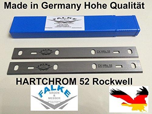 Preisvergleich Produktbild Zipper ZI-HB204 Abricht & Dickenhobel 210x22x1,8mm Hobelmesser 2 Stück Hohe Qualität