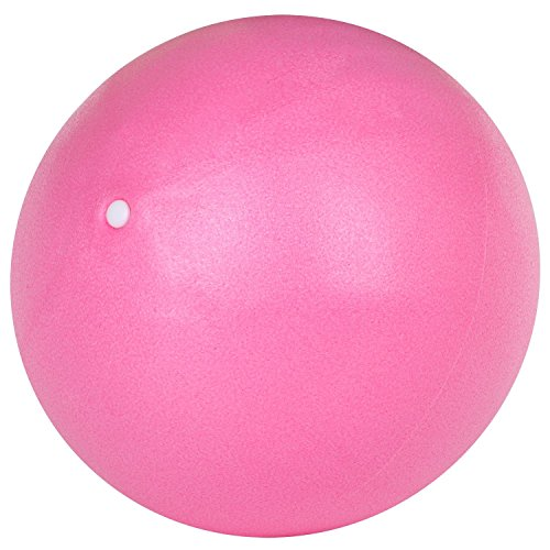 Trixes rosa Pilates-Ball Übung Gymnastikball aus PVC-Schaum Yoga Workout Gym Übung