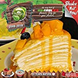E LIQUID PARA VAPEAR - 100ml Mango Crepe (Crepe Con Mangos Filipinos) Shake n Vape Liquido para Cigarrillo Electronico, E-Liquido sin Nicotina
