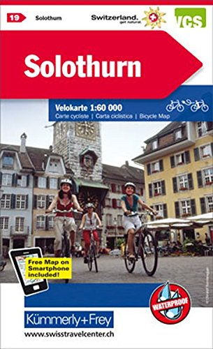 Solothurn 19 Cycle Map 2015