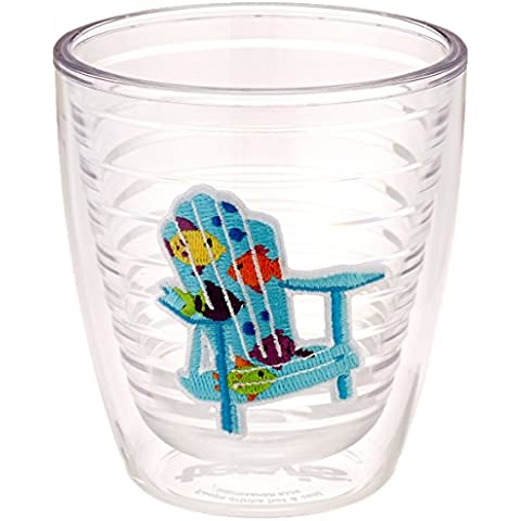 TERVIS Tumbler, 12-Ounce, Tropical Fish Adirondack Chairs by Tervis