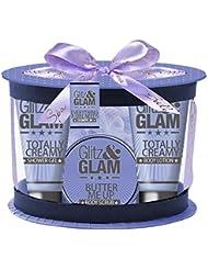 Gloss! Glitz And Glam Coffret de Bain Ovale Violet