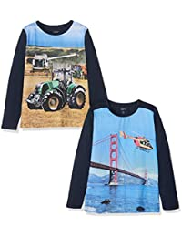 Care 550206 T-Shirt, (Dress Blues 7721), 92, Pack of 2
