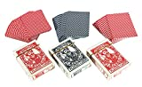 Stonkraft Plastic Coated Playing Cards (Set of 3) Flash Cards Party Games Fun