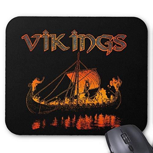 Drempad Gaming Mauspads Custom, Viking Funeral Mousepad
