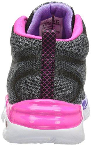 Skechers Air Appeal Breezin' By, Sneakers Hautes Fille Gris (Blvp)