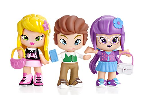 Pinypon by PINY - Pack de 3 figuras, Julia, Lilith y Will, surtido 2 (Famosa 700013378)