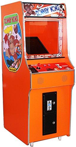 G-18 Orange Arcade Video Maschine TV Spielautomat Standgerät Cabinet Automat 412 Spiele Jamma Games Machine