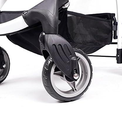 IbiyayaExpress Travel System Denim Pet Stroller 8