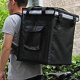 """pk-66V: Pizza Delivery Bag, bolsa de entrega de comida, 12pulgadas pizza mochila, bolsa térmica porta alimentos, térmico entrega bolsa, mochila de entrega de pizza, mantener caliente, carga superior, cierre de velcro, 16""""L x 12"""" W x 18""""H"""