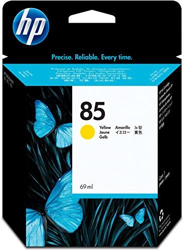 HP N°85 Cartouche d'encre d'origine Jaune