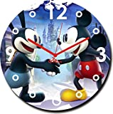 2 O Clock Mickey Mouse Printed Wall Cloc...