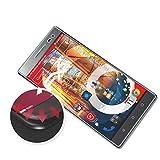 atFolix Schutzfolie passend für Lenovo Phab 2 Pro Folie, entspiegelnde & Flexible FX Bildschirmschutzfolie (3X)