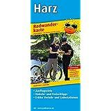 Harz: Radwanderkarte mit Ausflugszielen, Einkehr- & Freizeittipps, E-Bike Verleih- und Ladestationen, wetterfest, reissfest, abwischbar, GPS-genau. 1:100000