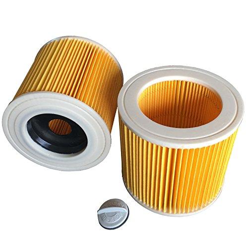 Clean Fairy HEPA Filter Ersatz für Karcher A Serie, WD Serie WD2200 2210 2240 2250 3200 3250- 2 Filter -