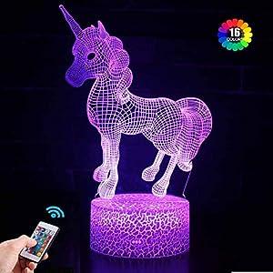 Regalo de Unicornio Luz de