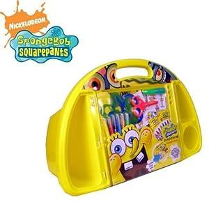 Spongeboba - Bandeja Cuadrada para Sentarse y Jugar