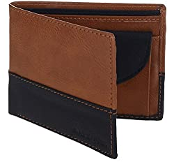MarkQues Milano Tan Leather Mens Wallet (ML-440401)