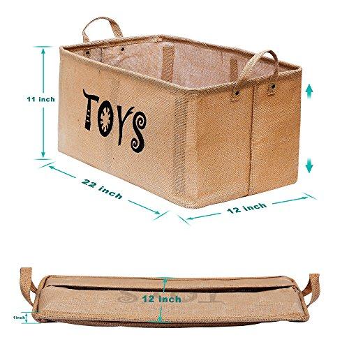 Zoom IMG-1 gimars cesto contenitore per giocattoli