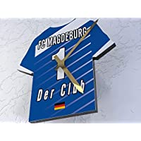 FanPlastic 2. Bundesliga Deutschland FUßBALL Shirt Uhren - 2. Bundesliga Fußball, JEDER Name & Jede Nummer Acryl Shirt Design !!!