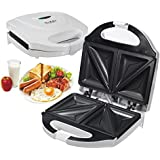 Generic Electric Sandwich Toaster Toasties Maker Non Stick Panini Cooker Grill Machine