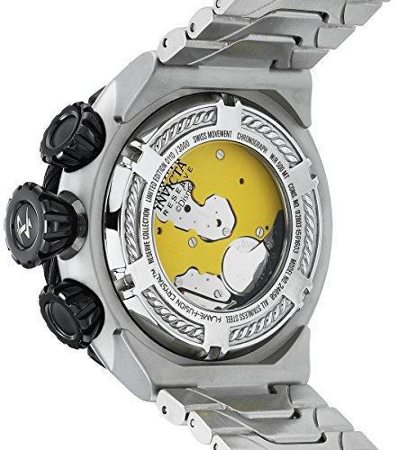 Invicta Men's 'Disney Limited Edition' Quartz Stainless Steel Casual Watch, Color Silver-Toned (Model: 24658)