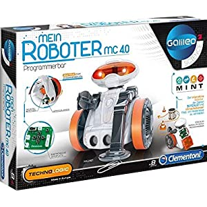 Science and Game Technologic Mio, the Robot 2.0 (Clementoni 55202.3), Spanish version