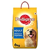 #8: Pedigree Adult Dog Food Chicken & Vegetables, 6 kg Pack