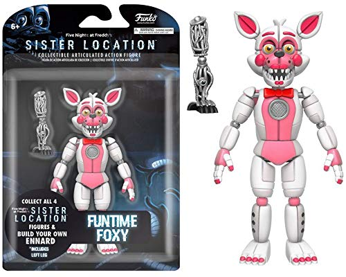 Funko 13742 Five nights at Freddys Action Figure: Fnaf: ft Foxy