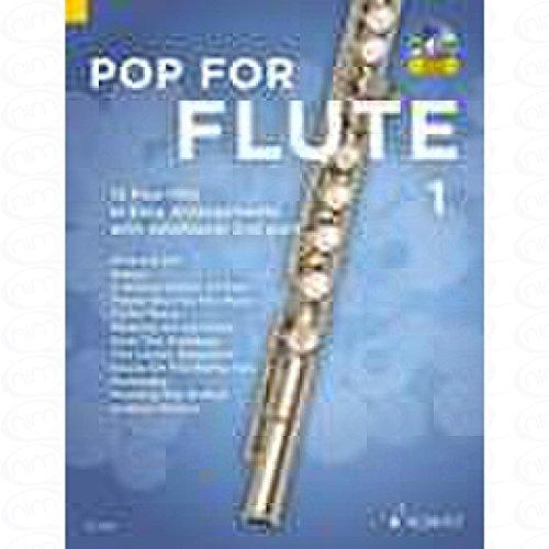 Pop for Flute 1 - arrangiert für Querflöte - (für ein bis zwei Instrumente) - mit CD [Noten/Sheetmusic]