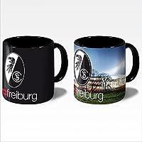 SC Freiburg Magic Mug Schwarzwald Stadion Becher Tasse Kaffeebecher Lizenzartikel