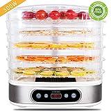 Best Déshydrateur - Déshydrateur Alimentaire, ZOCIKO Machine électrique déshydrateur de nourriture Review