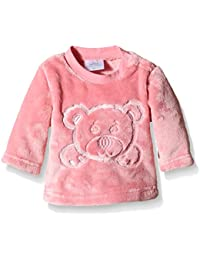 Twins Unisex Baby Fleecepullover mit Bärchen-Stickerei