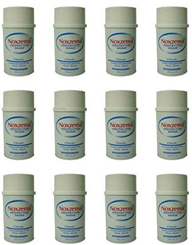 12-pezzi-crema-schiuma-da-barba-noxzema-classic-concentrata-protective-shave