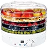 Digital Food Dryer & Dehydrator - Fruit Dehydrater with Digital temperature control
