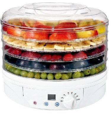 Digital Food Dryer & Dehydrator – Fruit Dehydrater with Digital temperature control & Timer