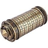 Hongzer Da Vinci Code Cryptex-slot, Da Vinci Code Cryptex cijferslot, romantisch geschenk met accessoires, cilinderslot Da Vi