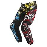 O'Neal Element MX Kinder Hose WILD Multi MX DH FR Moto Cross Enduro Downhill Motorrad, 0124W-9, Größe 28/44