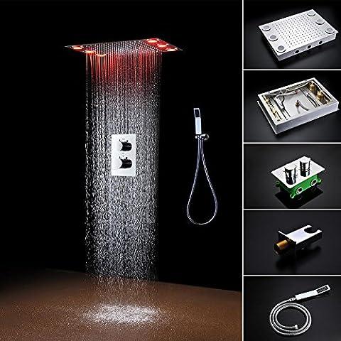 hm® Sistema termostatico doccia con 20 x