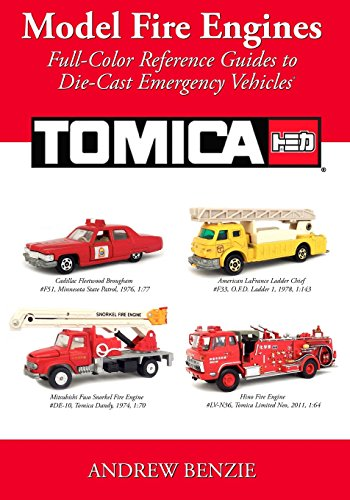 model-fire-engines-tomica-full-color-reference-guides-to-die-cast-emergency-vehicles