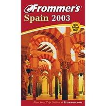 Frommer's Spain 2003