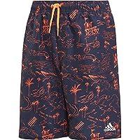 adidas Graphic Classic-Length Youth Swim Shorts, Niños